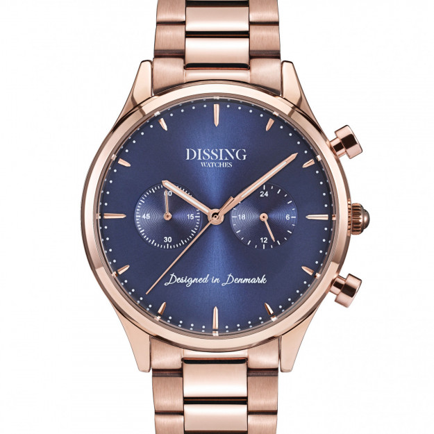 Dissing Steel Rose Gold/Blue-30