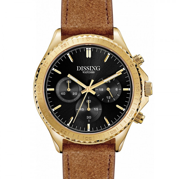 Dissing MK5 Leather Gold/Black-30