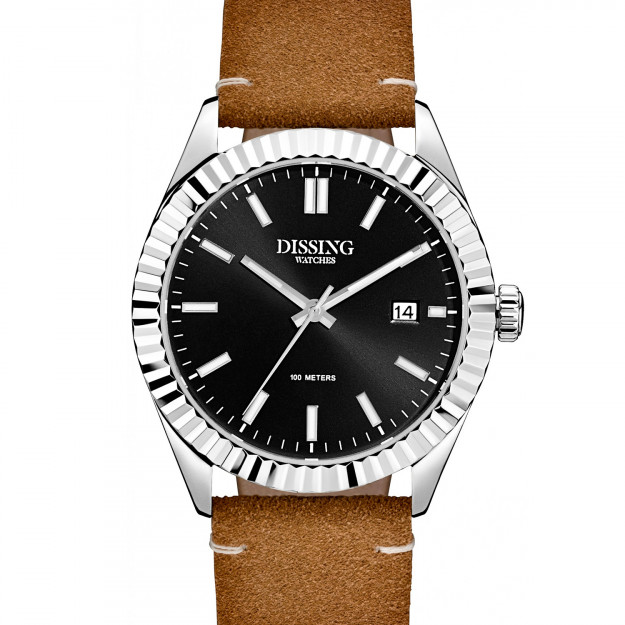 Dissing Date Leather Steel/Black-30