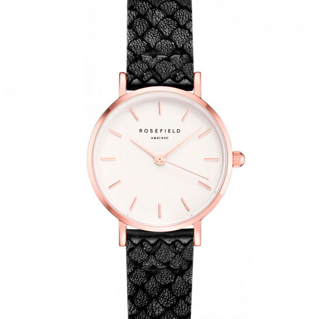 Rosefield The Small Edit White Black Rose gold-30