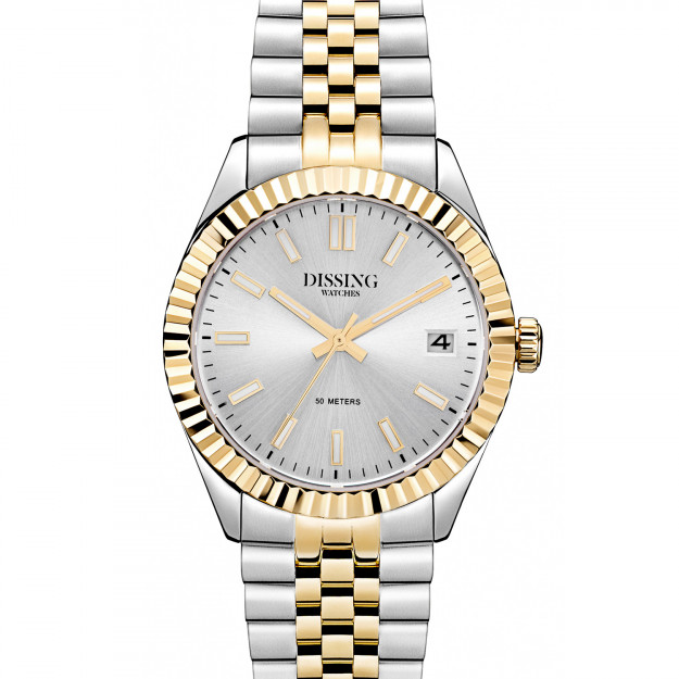 Dissing Date 36 Two Tone Silver/Gold-30