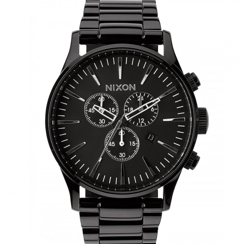 Nixon Sentry Chrono All Black-35