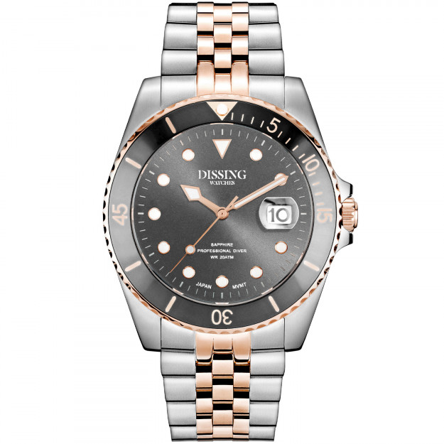 Dissing Diver Silver/Rose/Grey-31