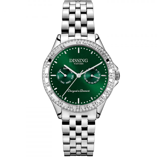 Dissing Ladies Silver/Green-31