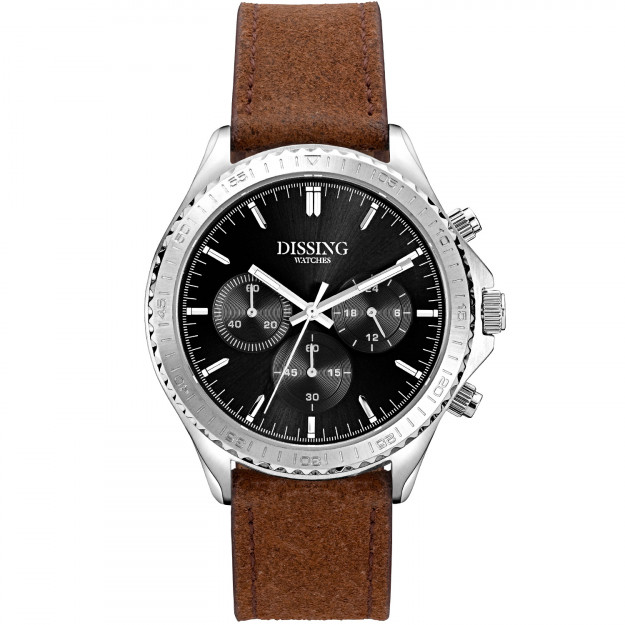 Dissing MK5 Leather Silver/Black-31