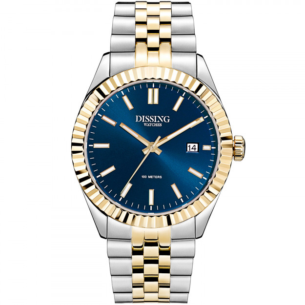 Dissing Two Tone Date Gold/Blue-31