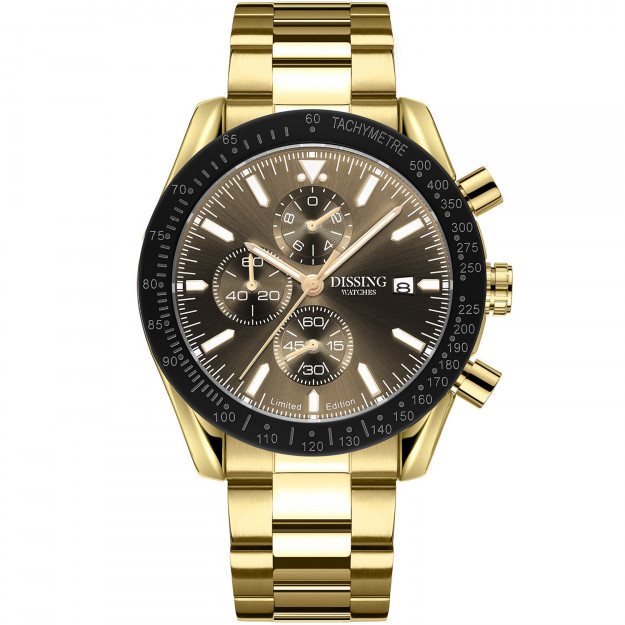 Dissing Chrono Gold/Brown/Gold Limited Edition-31