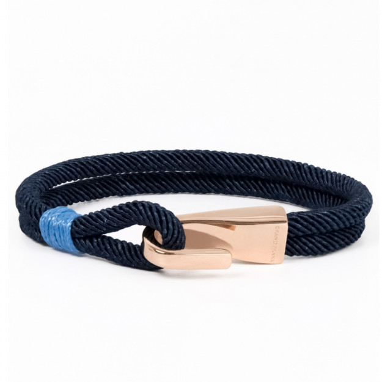 Grand Frank Armbånd Blue Rope-31