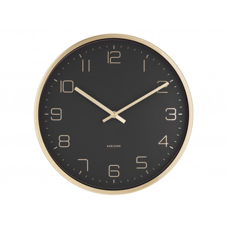 Karlsson Wall Clock Gold Elegance-30