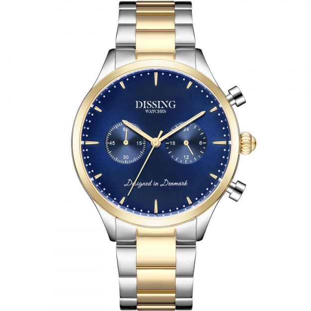 Dissing Steel Two Tone Gold/Blue-31