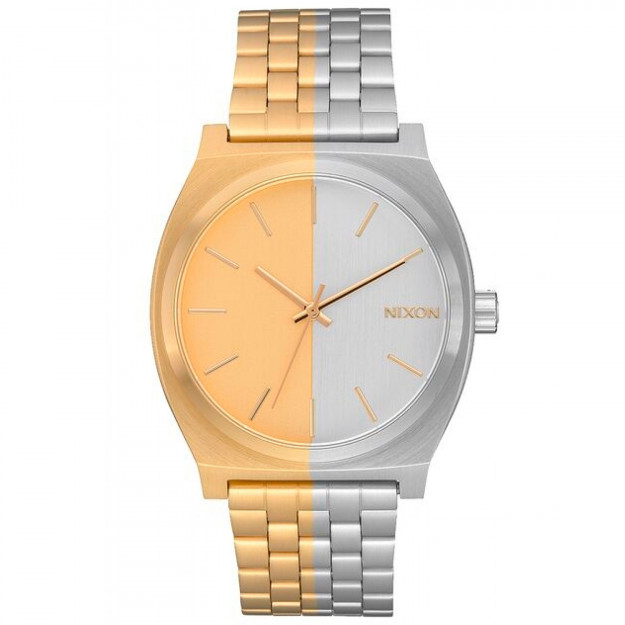 Nixon Time Teller Gold and Silver-30