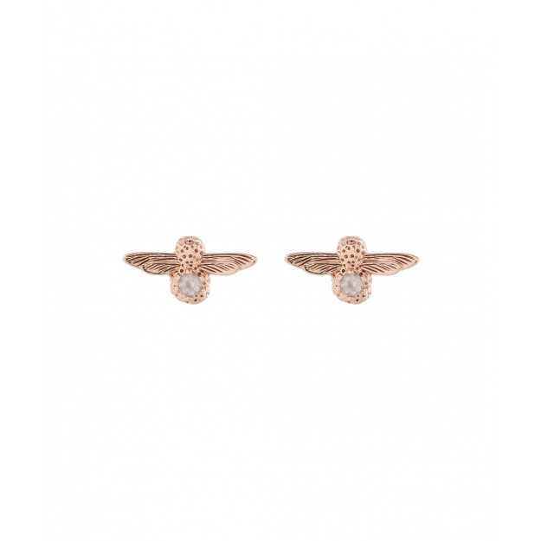 Olivia Burton Bee Stud Earrings Gold Stone-30