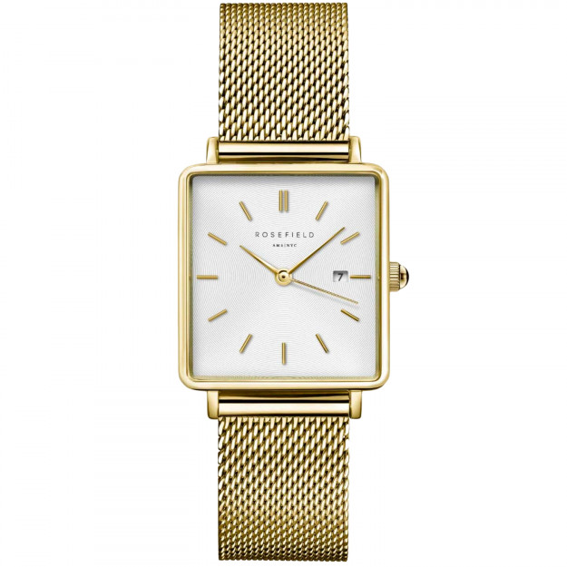 Rosefield The Boxy Gold White QWSG-Q03-331