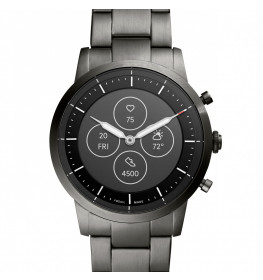 Fossil Hybrid Smartwatch HR Collider Smoke Stainless Steel FTW7009-044