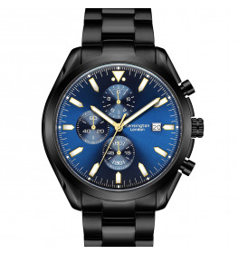 Kensington London Chrono Black/Blue-091
