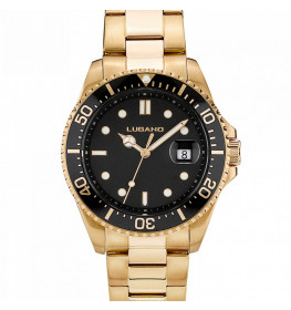 Lugano Diver Gold/Black-033