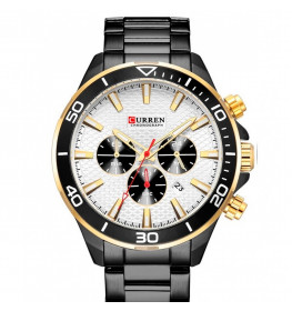 Curren Chrono White/Black-069