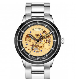 Kensington London Automatic Steel Gold/Silver-055