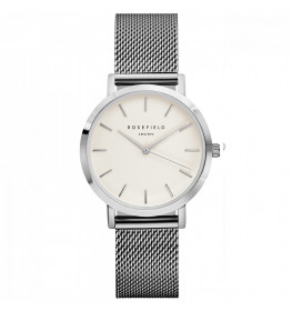 Rosefield The Tribeca White Silver-028