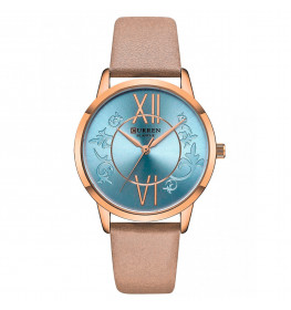 Curren Ladies Leather Blue-088