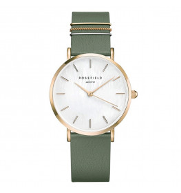 Rosefield The West Village Olive Green Gold WFGG-W85-010