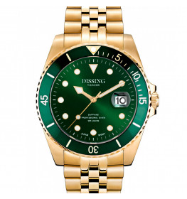 Dissing Diver Gold/Green-052