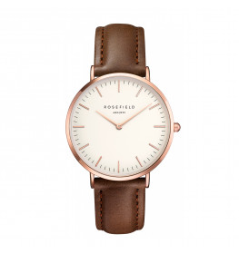 Rosefield The Bowery White Brown Rose Gold-028
