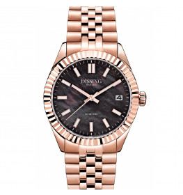 Dissing Date 36 Rose Gold/Black Pearl-052