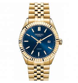 Dissing Date 36 Gold/Blue-052