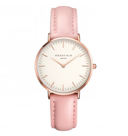 Rosefield The Tribeca White Pink Rose Gold-028