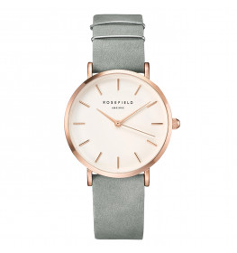 Rosefield The West Village Mint Grey Rose Gold-034