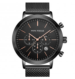 Megir Mini Focus Black Mesh Rose-023