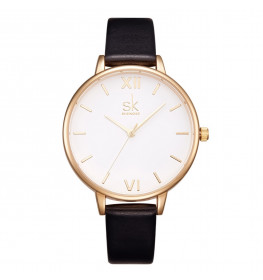 Sinobi Classic White/Gold Leather-035