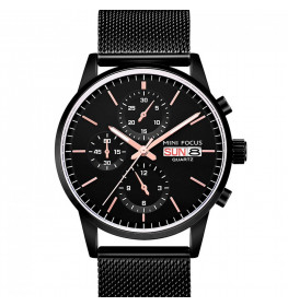 Megir Mini Focus Black Mesh-014