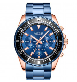 Megir Chronograph Blue/Blue MS2064GRE-BE-2N0-014