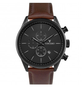 Vincero Chrono S Gunmetal/Walnut-06
