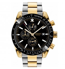 Dissing Chrono Two Tone Steel Black/Gold-025