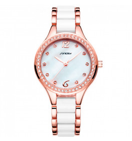 Sinobi Elegance Two Tone White/Rose Gold-036