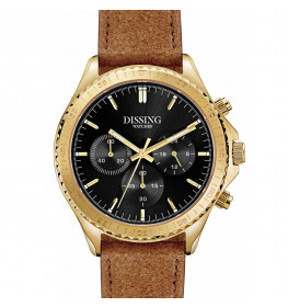 Dissing MK5 Leather Gold/Black-043