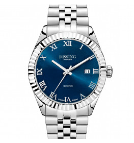 Dissing Date Silver/Blue Limited Edition-054