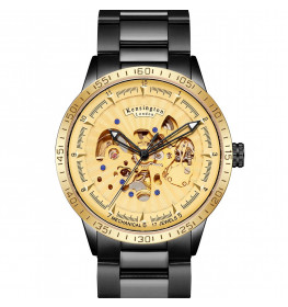 Kensington London Automatic Steel Gold/Black-053
