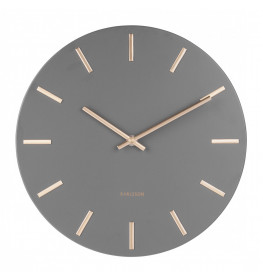 Karlsson Wall Clock Charm KA5716GY-064