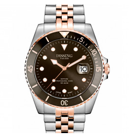 Dissing Diver Silver/Rose/Brown-053