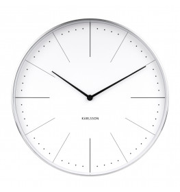 Karlsson Wall clock Normann station (Hvid)-068