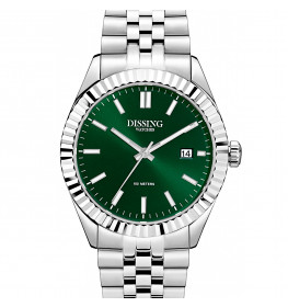 Dissing Date Steel/Green-039