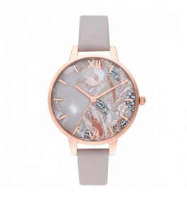 Olivia Burton Abstract Florals Rose Gold-017