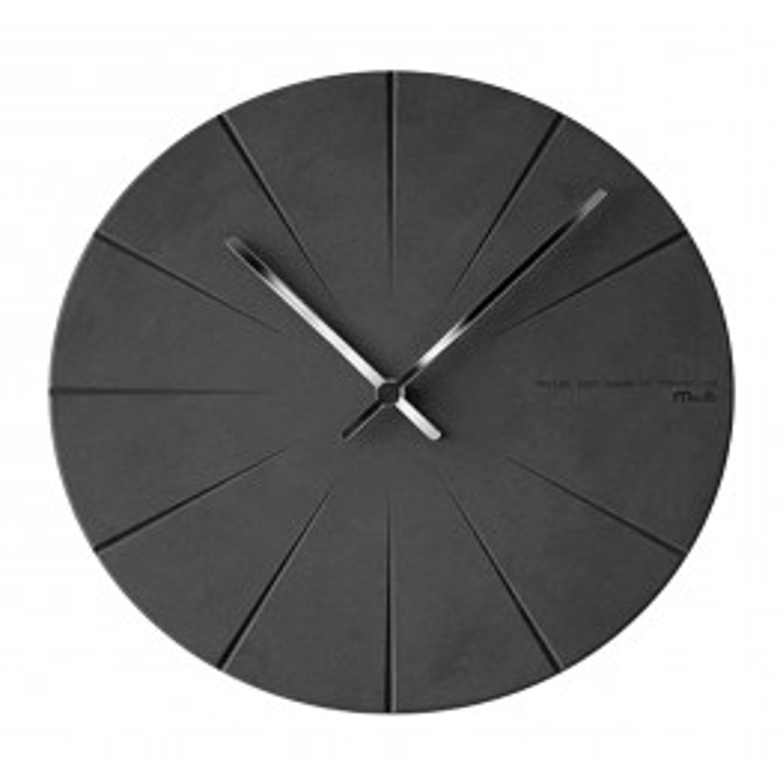 Wall Clock Black 28 cm-010