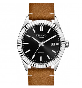 Dissing Date Leather Steel/Black-043