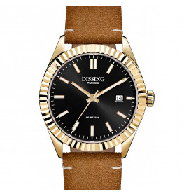 Dissing Date Leather Gold/Black-041