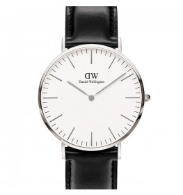 Daniel Wellington Classic 40 Sheffield Steel White ADW00100020-028